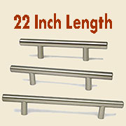 (G)Stainless Steel Bar Pull HC-9529-100 22 Inches Long