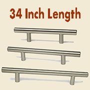 "(J)Stainless Steel Bar Pull 34"" HC-9532-100"
