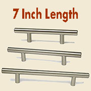 (B)Stainless Steel Bar Pull HC-9524-100 7 Inches Long