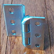Stainless Steel Institutional and Hospital Hinge 2 Inch High