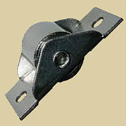 Trunk Bottom Roller Caster Steel 2 Inches Long S-4917 Sold by Each not by 4.