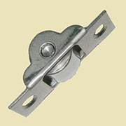 Trunk Bottom Roller Caster Steel 1-13/16 Inches Long S-4907 Sold by Each not by 4