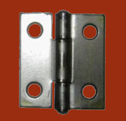 Zinc Plated Steel Flat Butt Hinge S-1633