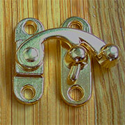 Gold Plated Swing Purse Latch OBP-2433GOLD