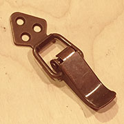 Tension Lever Latch Lock Bronze Plated Steel X-244Z