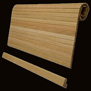 Oak Tambour Roll Top Door SRT-1