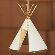 DISCONTINUED WILL NOT SHIP. 1400 Small Indian Teepee HA-23115-0