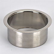 (A) 4x2 Inch Polished Stainless Steel Trash Trim Ring Grommet for Cans & Bottles HC-6124-279