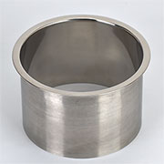 (F) 6x4 Inch Polished Stainless Steel Trash Trim Ring Management Grommet Countertop Trim Ring HC-6143-479