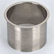 (G) 6x6 Inch Polished Stainless Steel Trash Trim Ring Grommet Countertop Trim Ring HC-6143-679 6x6
