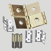 Brass Plated Steel Double Acting Folding Privacy Screen Hinge H-551-3/4P