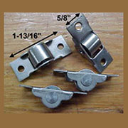 Steel Trunk Bottom Caster Roller S-4907 Sold by Each not 4