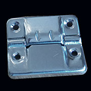 Nickel Plated Skyway Stop Briefcase Trunk Hinge OBL-352NP