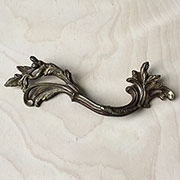Victorian Drawer Pull Solid Brass TR-TA923P
