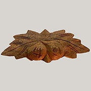 "Fruit and Nut Drawer Pull Walnut 4-1/2"" BM-4344"