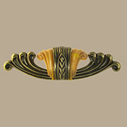 Waterfall Art Deco Drawer Pull Bakelite WF-101 BM-6101 4-1/4 Inch Centers