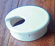 2 Inch Hole Size White Wire Grommet HC-6730-10
