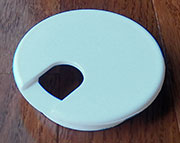 DISCONTINUED WILL NOT SHIP 2-3/8 Inch Hole Size White Wire Grommet HC-6737-010
