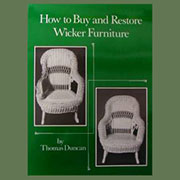 How to Buy and Restore Wicker Furniture Book A-0081