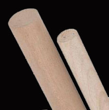 1 maple dowel