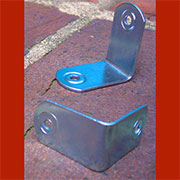 Zinc Plated Steel Trunk Corner Clamp RH-1707